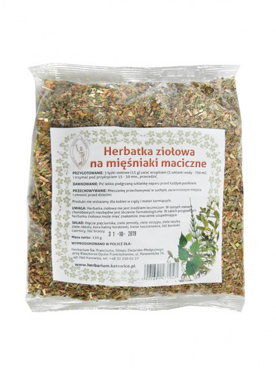 Herbatka ziołowa Na mięśniaki