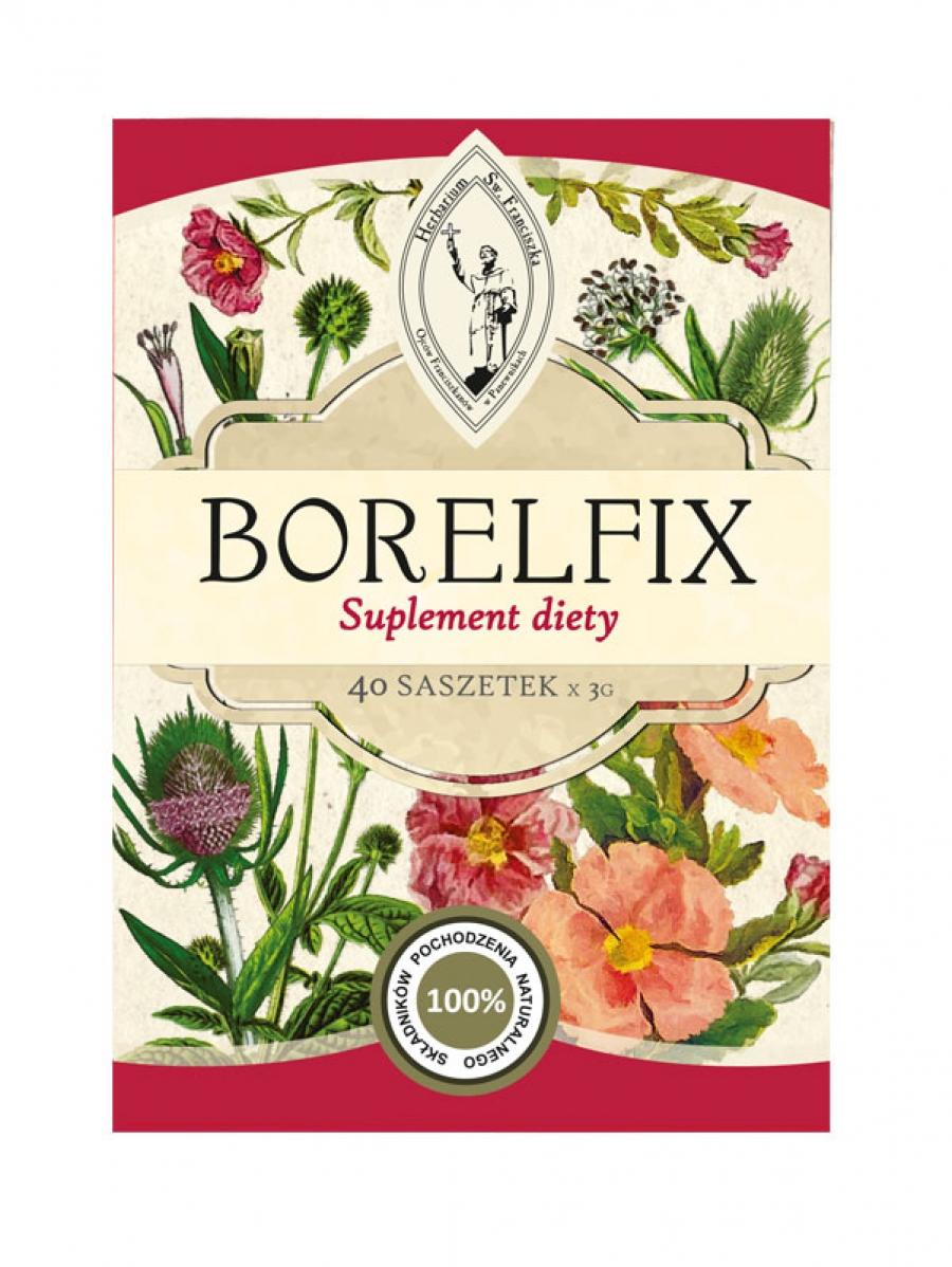 Herbatka ziołowa BORELFIX